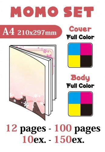 Momo Set A4 12p-100p 10ex-150ex