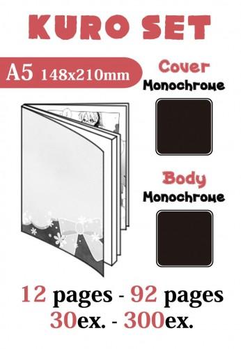 Kuro Set A5 12p-92p 30ex-300ex