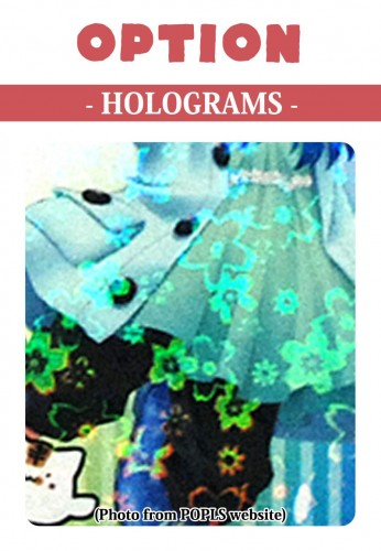 OPTION Hologram (Maru/Momo)