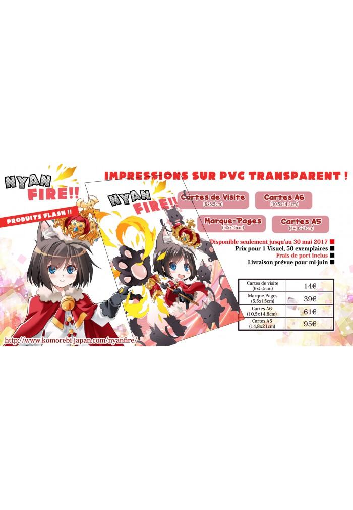 Imprime Sur PVC Transparent