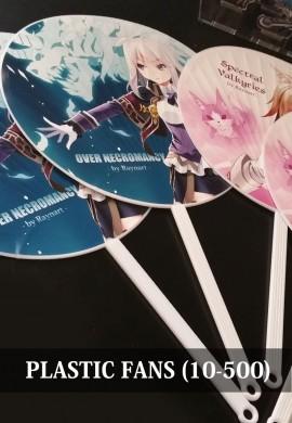 Plastic Fans 10pcs-500pcs