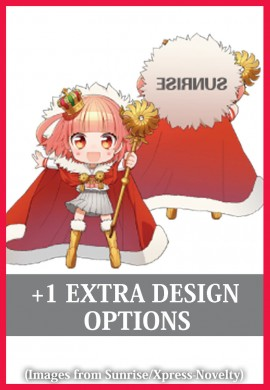 +1 Extra Design (Acrylic Items)